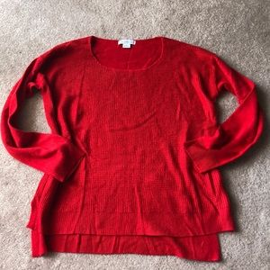 Liz Claiborne Red Sweater L